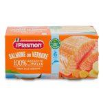 Omogeneizzato salmone e verdure 2x80g Plasmon