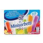 Minisorbetti alla frutta gusti assortiti conf.da 10 pezzi 250g Noi&Voi