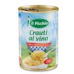 Crauti al vino cotti&conditi al vino bianco 400g il Picchio