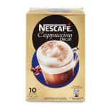 Nescafè cappuccino decaffeinato 10 buste 125g