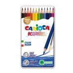 Pastelli acquarell pencil 12 pezzi Tinbox Carioca