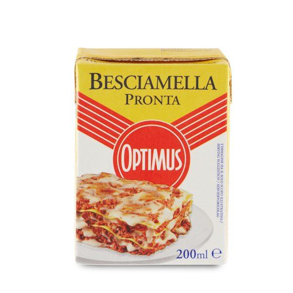 Besciamella pronta 200ml UHT Optimus