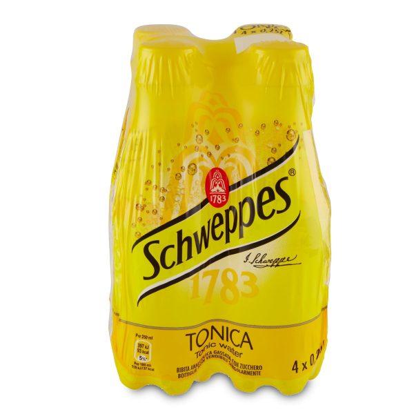 Schweppes tonica classica 4x250ml