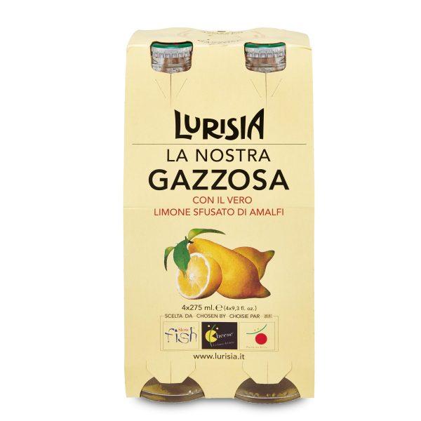 Gazzosa in vetro 275ml x4 Lurisia