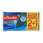 Spugna glitzi fibraverde 2+1 Vileda