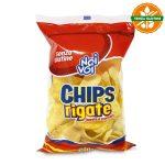 Patatina Chips rigate dorate e croccanti senza glutine 200g Noi & Voi