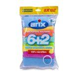 Microfibre multipack 6+2 Arix