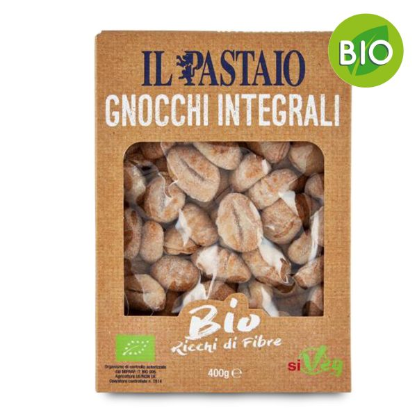 Bio gnocchi integrali 400g Il Pastaio