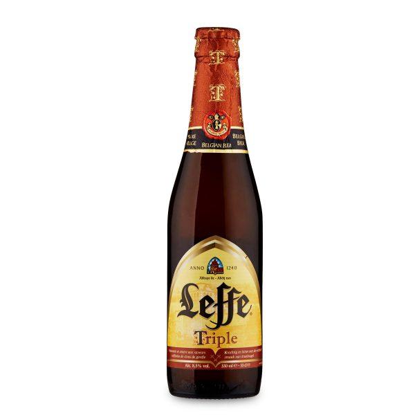 Birra bottiglia Triple 33cl Leffe