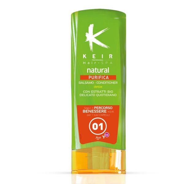 Balsamo purificante capelli grassi 250ml Keir