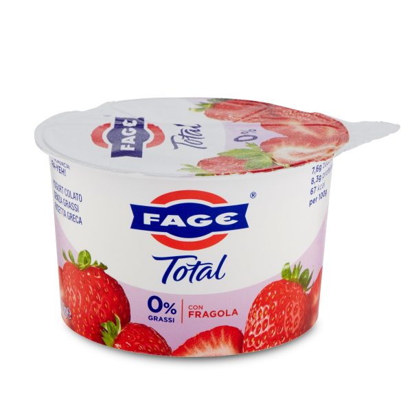 Yogurt total split 0% 170g fragola