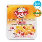 Pancetta affumicata cubetti senza glutine 90g Negroni  senza lattosio