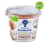 Yogurt magro biologico cocco 250g Fattoria Scaldasole