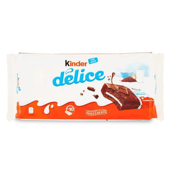 Kinder delice 10 pezzi 420g Ferrero