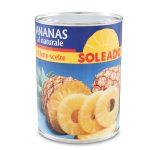 Ananas Naturale 560g Soleado