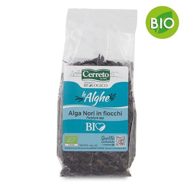 Alghe Nori in fiocchi BIO 35g Cerreto