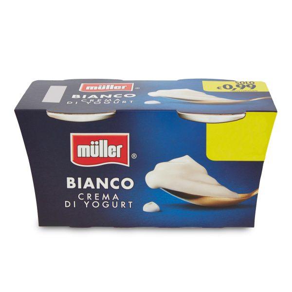 Yogurt bianco 125x2 Müller