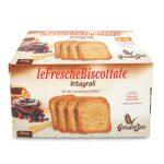 Fette biscottate con farina integrale 26 porzioni da 4 fette 810g Grissini Bon
