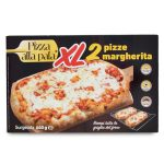Pizza alla pala margherita xl 2X230G Svila