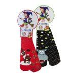 Le calzotte, calze antiscivolo taglia unica con dolci assortiti 150g Castelvedere