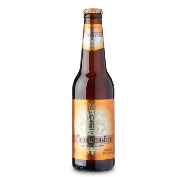 Birra ambrata bottiglia 33cl Menabrea
