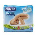 Pannolini Chicco dry fit midi x21