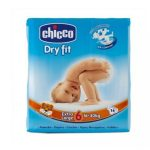 Pannolini Chicco dry fit xl x14