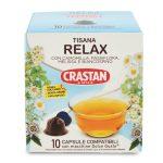 10 capsule per tisana relax compatibile Dolce gusto 30g Crastan