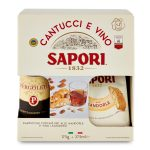 Cantucci 175g con vino liquoroso 375cl