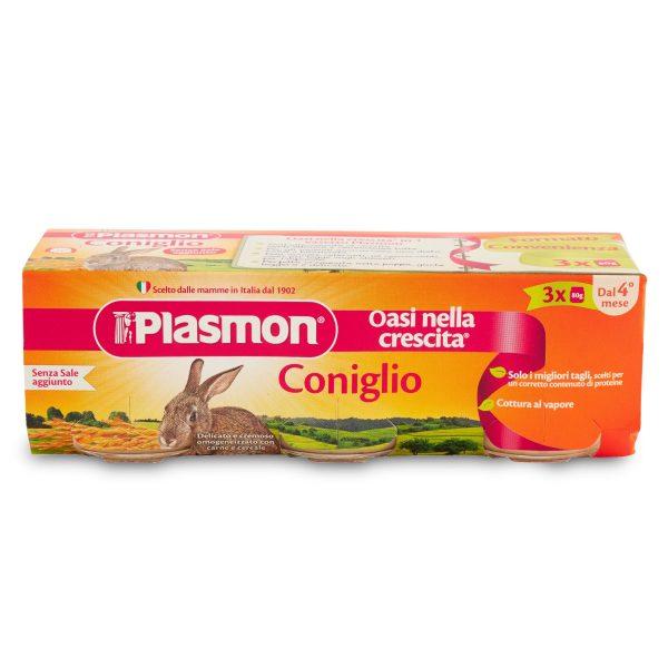 Omogeneizzati coniglio 3x80g Plasmon