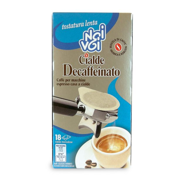 Cialde decaffeinato 125g Noi&Voi