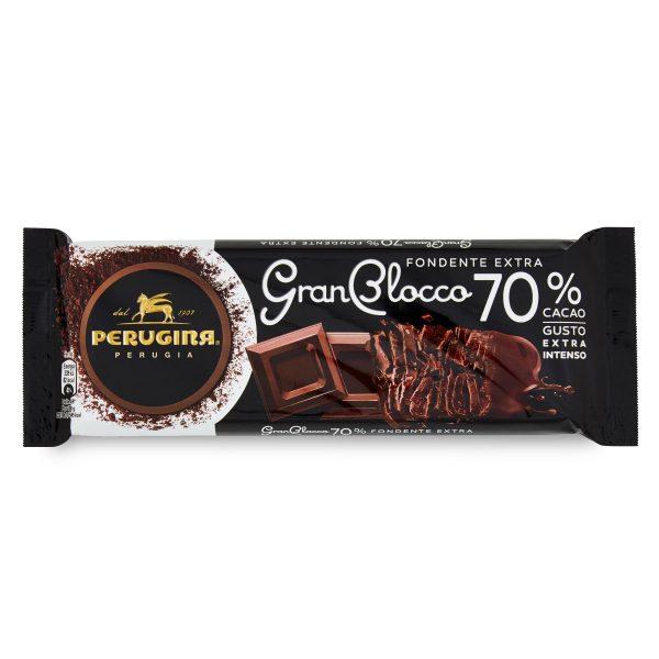 Cioccolato fondente 70% 150g Gran Blocco Perugina