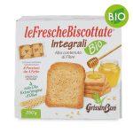 Fette biscottate bio con farina integrale 250gr   Grissin Bon
