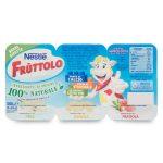 Fruttolo frutta singola fragola/pera/banana 6x50g Nestlé