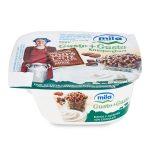 Gusto+gusto bianco e mandorle con cioccolato 150g Mila