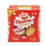 Babybel cheese e crackers 40gx2