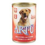 Bocconcini di carne per cane Artù 400g