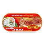 Alici distese in salsa piccante 48g Zarotti