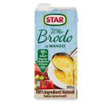 Brodo di manzo -30% di sale 1L Il Mio Brodo Star