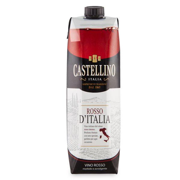 Vino rosso Castellino brick 1L
