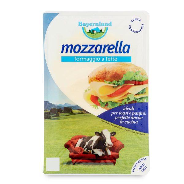 Mozzarella a fette 140g Bayernland