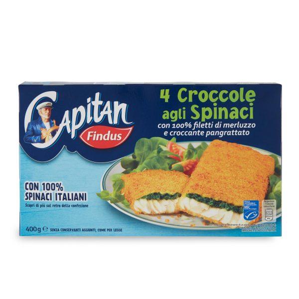 Croccole agli Spinaci confezione da 4 pezzi 400g Findus