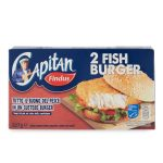 Fish Burger 100% Filetti di Merluzzo d'Alaska 227g Findus