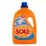 Detersivo lavatrice Sole bianco solare ultra 40 lavaggi