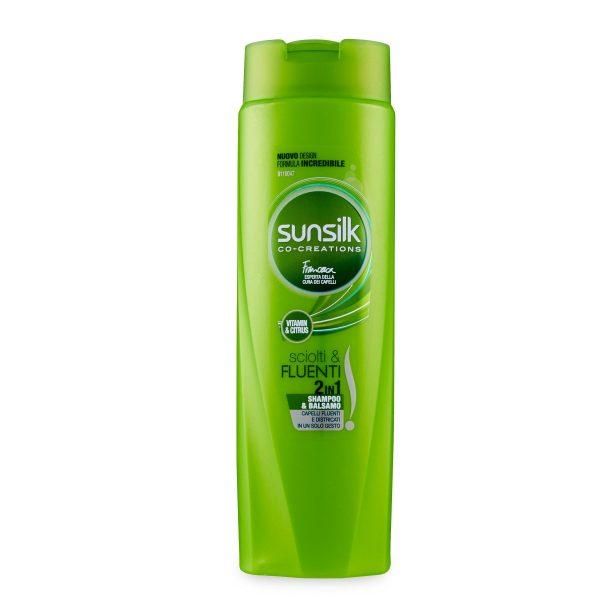 Shampoo 2in1 sciolti e fluenti 250ml Sunsilk