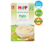 Crema di miglio bio 200g Hipp senza glutine e senza latte