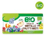 Bio infuso mirtilli/frutti misti 20 filtri Noi&Voi