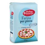 Farina di grano tenero 0 per pizza 5Kg Molino     Rossetto