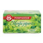 Infuso menta peperita aromatica e fresca 20 filtri Pompadour