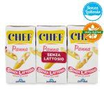 Panna chef leggera 3x125ml Parmalat